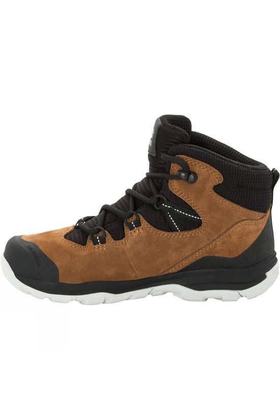 Jack Wolfskin Kids Mtn Attack 3 Lt Texapore Mid 14+ Desert Brown / Black