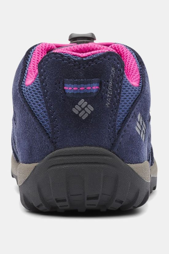 Columbia Boys Redmond Waterproof Boot Bluebell/Pink Ice