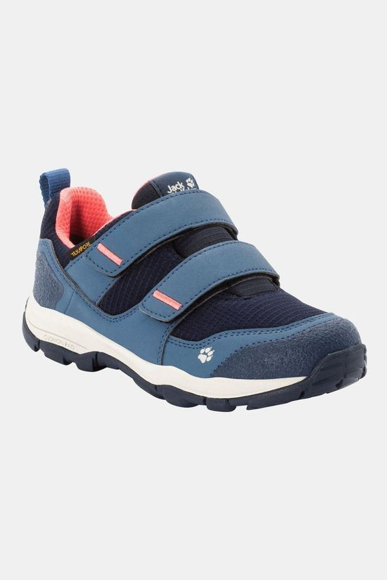 Jack Wolfskin Womens Mtn Attack 3 Texapore Low VC Shoe Dark Blue / Rose