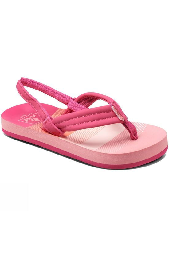 Reef Little Ahi Sandal Pink Stripe