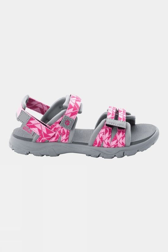 Jack Wolfskin Kids 2 In 1 Sandal Pink / Light Grey