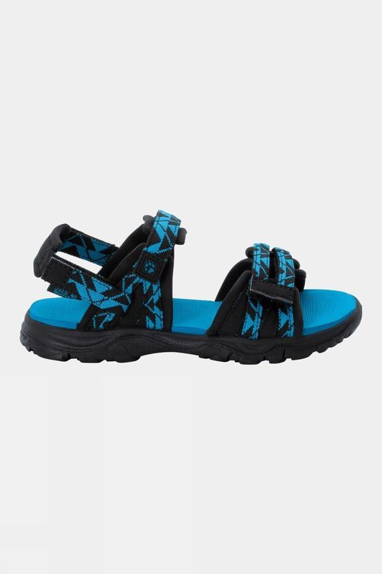 Jack Wolfskin Kids 2 In 1 Sandal Black / Blue