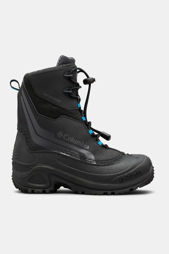 Columbia Boys Bugaboot Plus Iv Omni-Heat Boot Black/ Hyper Blue