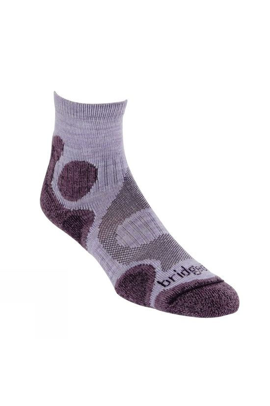 Bridgedale Womens Cool Comfort Sock Heather/Damson