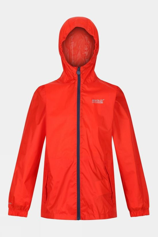 Regatta Kids Pack-It Jacket III Amber Glow