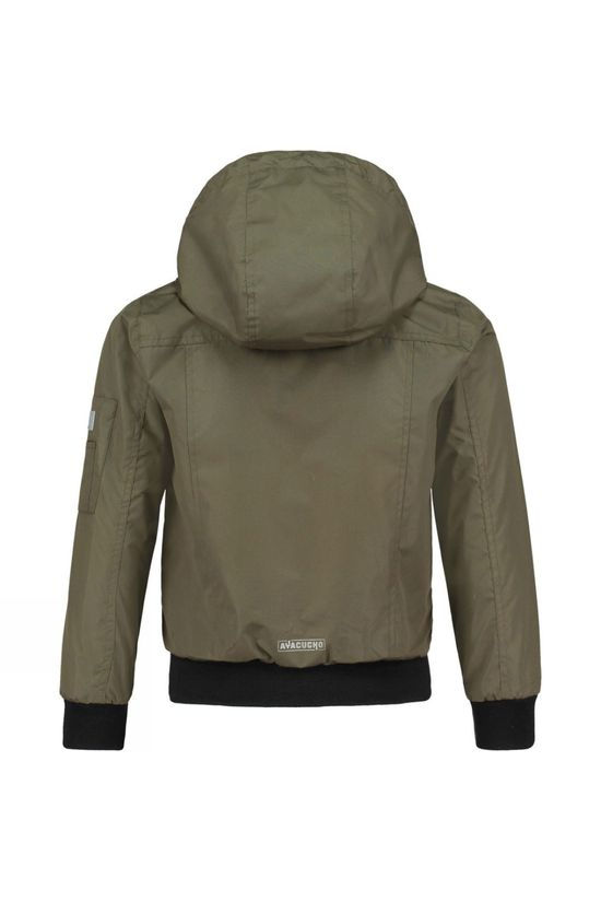 Ayacucho Jose Junior Jacket Dark Olive
