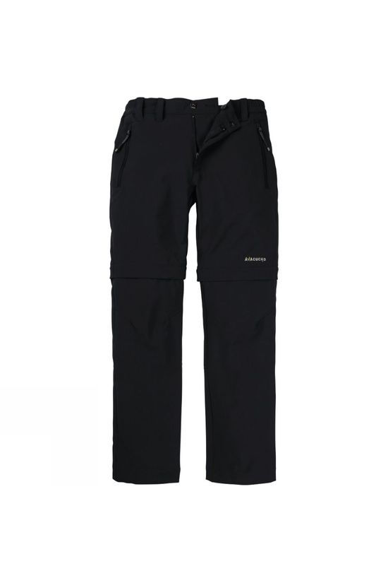Ayacucho Kids Stretch Zip Off Pants Anthracite