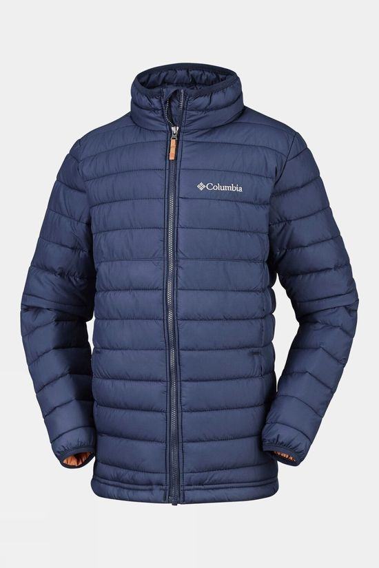 Columbia Boys Powder Lite Jacket Collegiate Navy