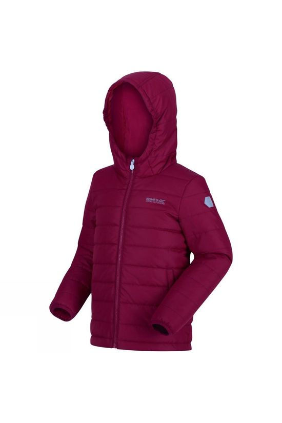 Regatta Kids Helfa Insulated Jacket Beetroot
