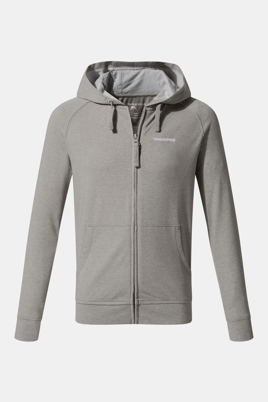 Craghoppers Kids NosiLife Ryley Hoody Soft Grey Mrl