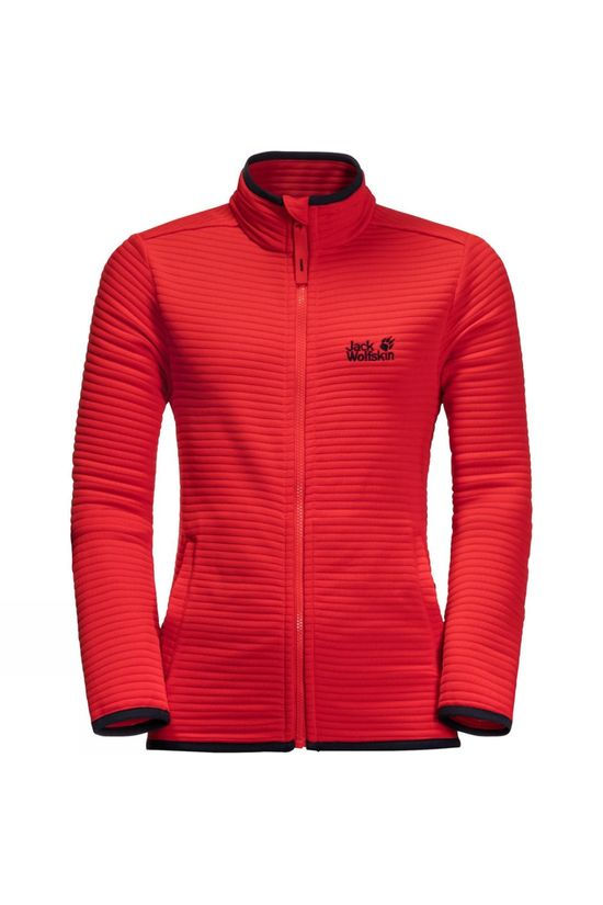 Jack Wolfskin Kids Modesto Jacket 14+ Peak Red