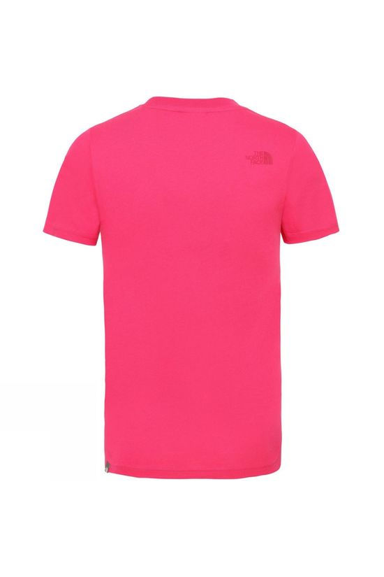 The North Face Youth Box Short Sleeve Tee Cabaret Pink