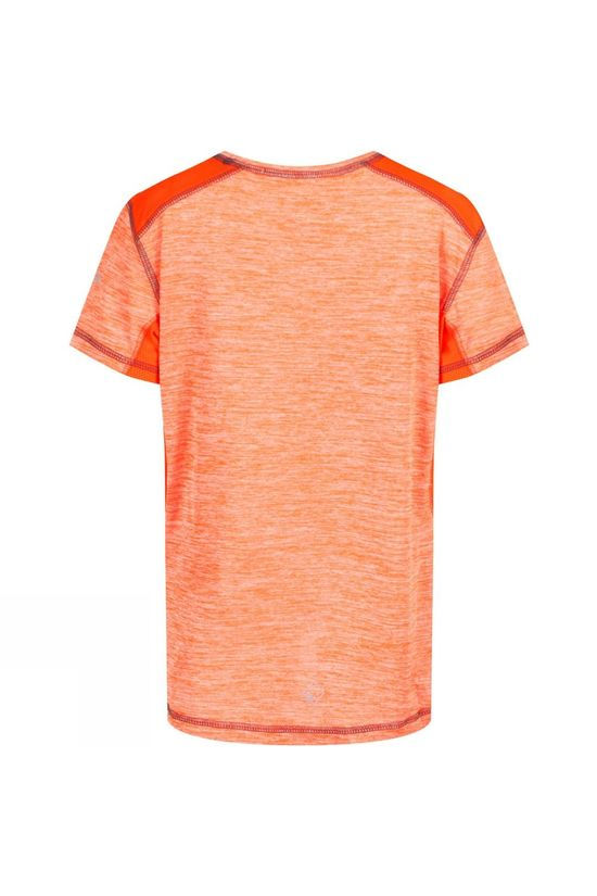 Regatta Childrens Takson Tech T-Shirt Blaze Orange