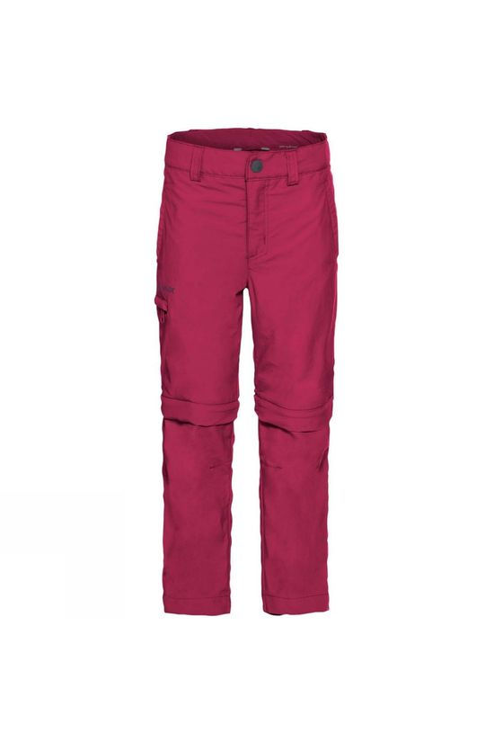 Vaude Kids Detective Zip Off Pants II Crimson Red
