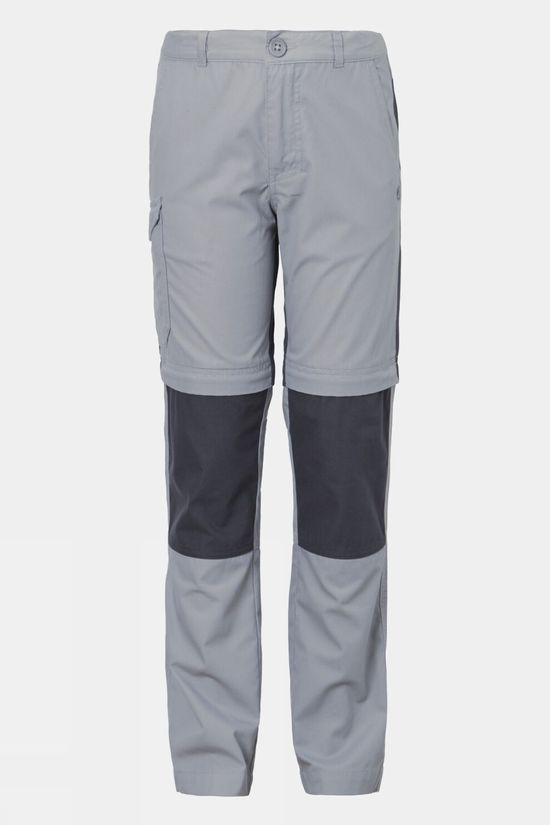 Craghoppers Boys Kiwi Convertable Trouser Cement