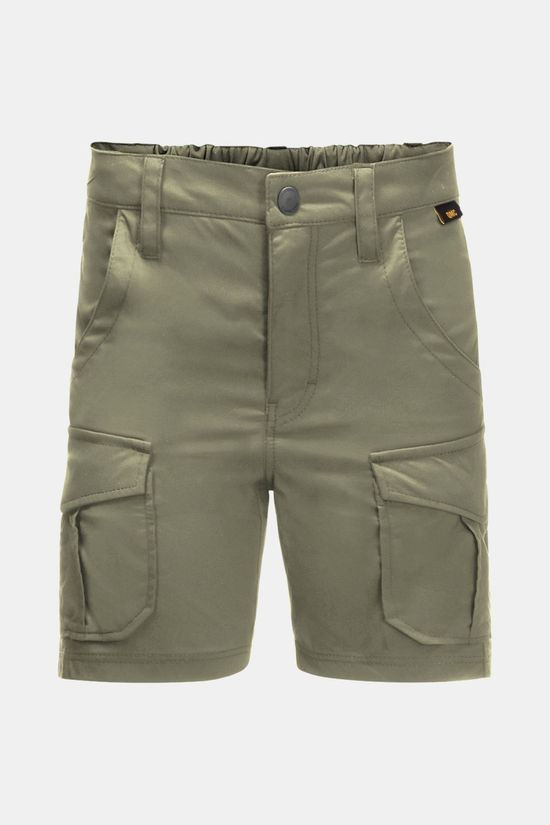 Jack Wolfskin Kids Treasure Hunter Shorts Khaki