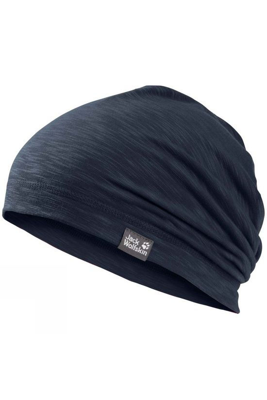 Jack Wolfskin Boys Travel Beanie Night Blue