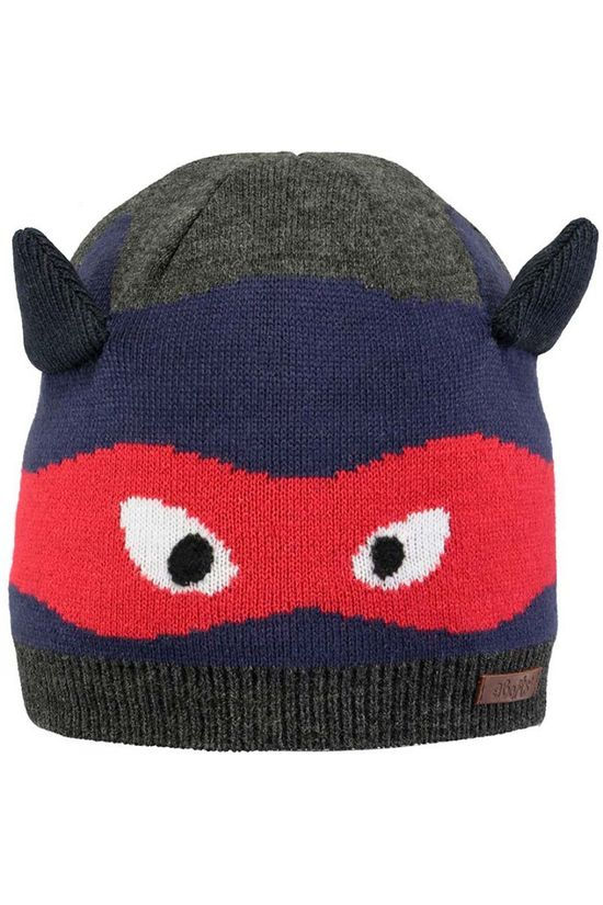 Barts Boys Allard Beanie Dark Heather