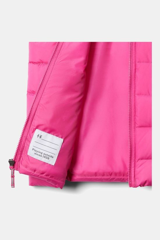 Columbia Girls Youth Powder Lite Puffer Vest Pink Ice