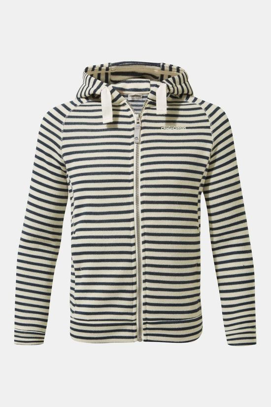 Craghoppers Girls Aprilla Jacket Blue Navy Stripe