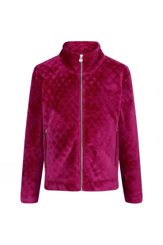 Regatta Kids Kerala FZ Fleece Beetroot