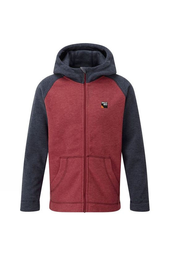 Sprayway Quix Junior Fleece Hoody Blazer/Carnival