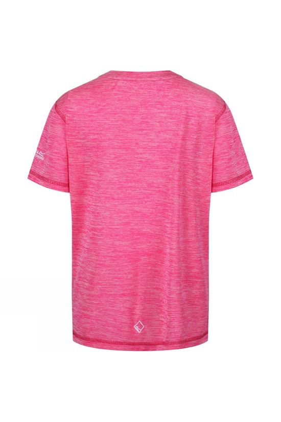 Regatta Childrens Alvarado IV Short Sleeve Tee Cabaret Pink