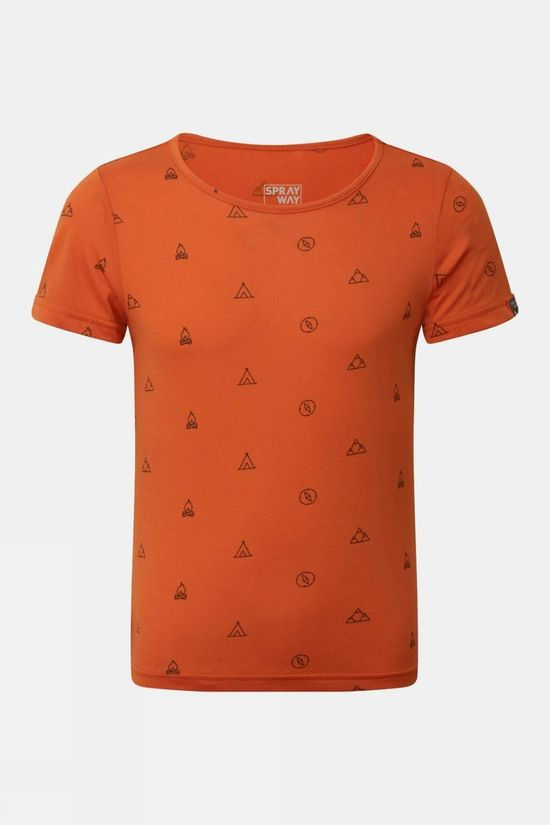 Sprayway Kids Adventure Tee Burnt Ochre