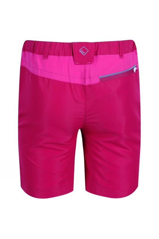 Regatta Childrens Sorcer Mountain Shorts Dark Cerise/Caberet