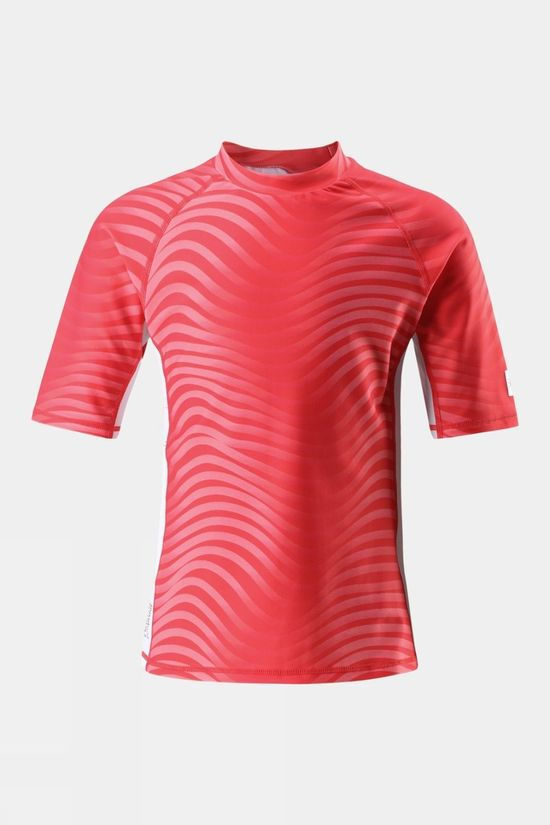 Reima Boys Fiji Sun Protection Top Pink Wave