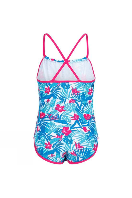 Regatta Girls Takisha Swimsuit Blue Tropical
