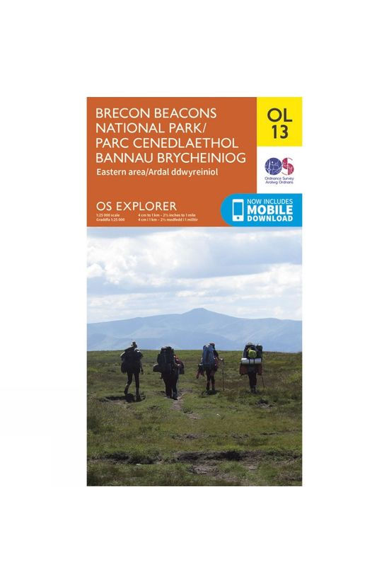 Ordnance Survey Explorer Map OL13 Brecon Beacons National Park - Eastern Area V15