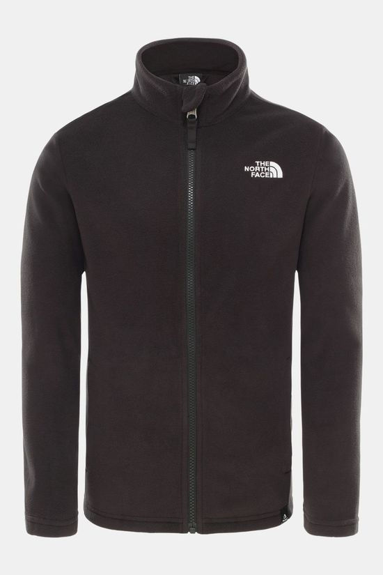 The North Face Youths Snow Quest Full Zip Tnf Black/Tnf White
