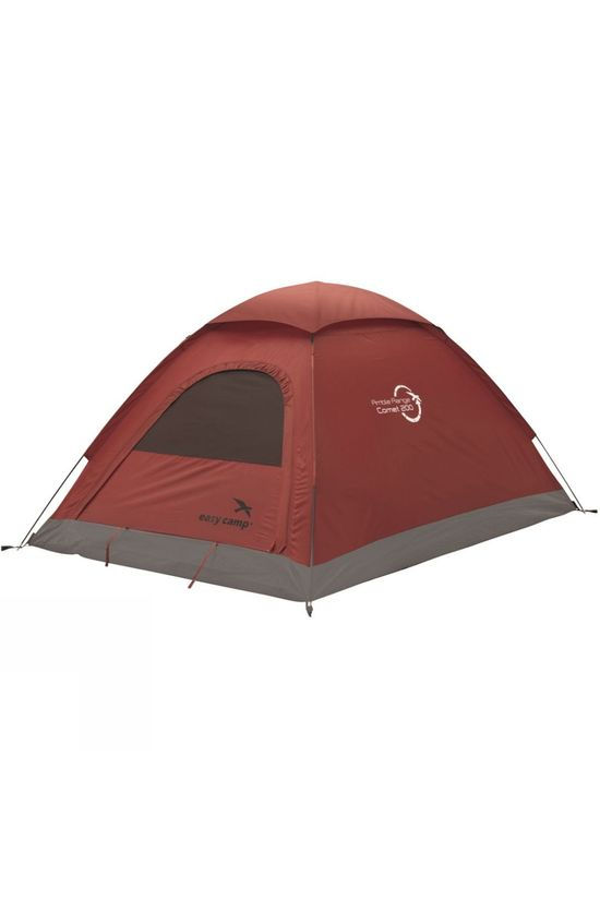 Easy Camp Comet 200 2 Person Tent Dark Red
