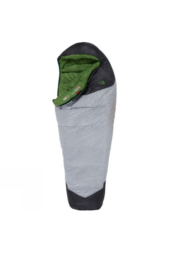The North Face Green Kazoo -18°C Sleeping Bag High Rise Grey/Adder Green