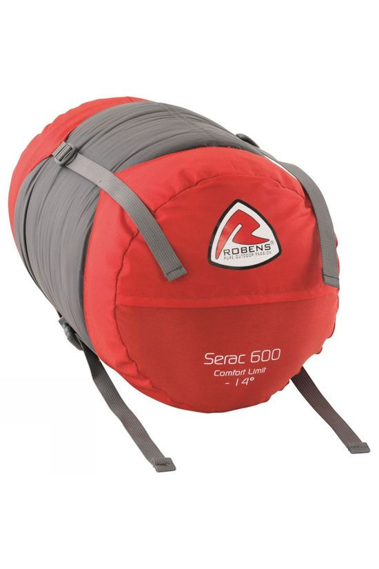 Robens Serac 600 Sleepng Bag Brown