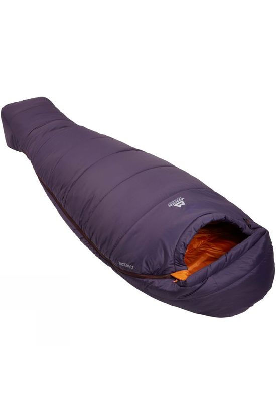 Mountain Equipment Womens Starlight I Sleeping Bag Long Aubergine / Blaze