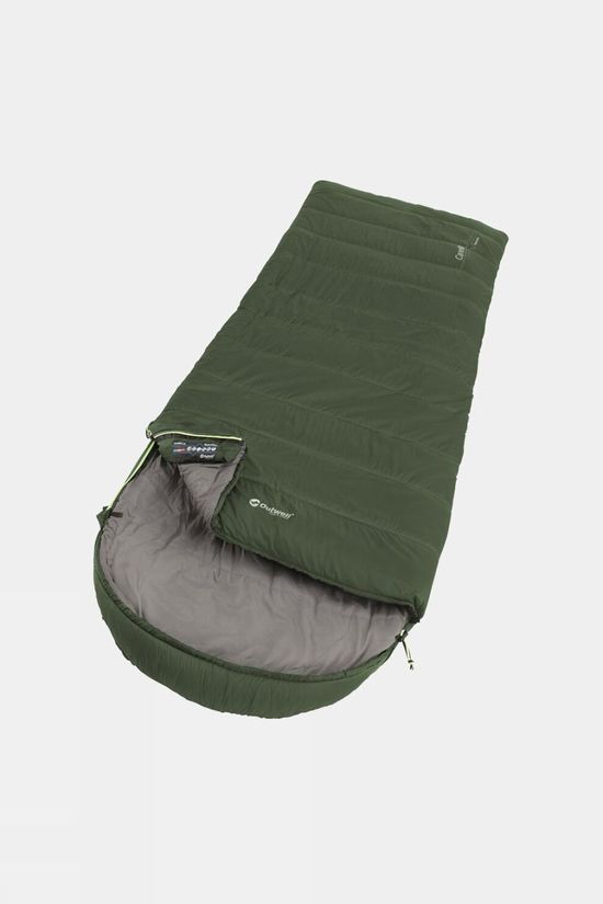 Outwell Canella Supreme Synthetic Sleeping Bag Green
