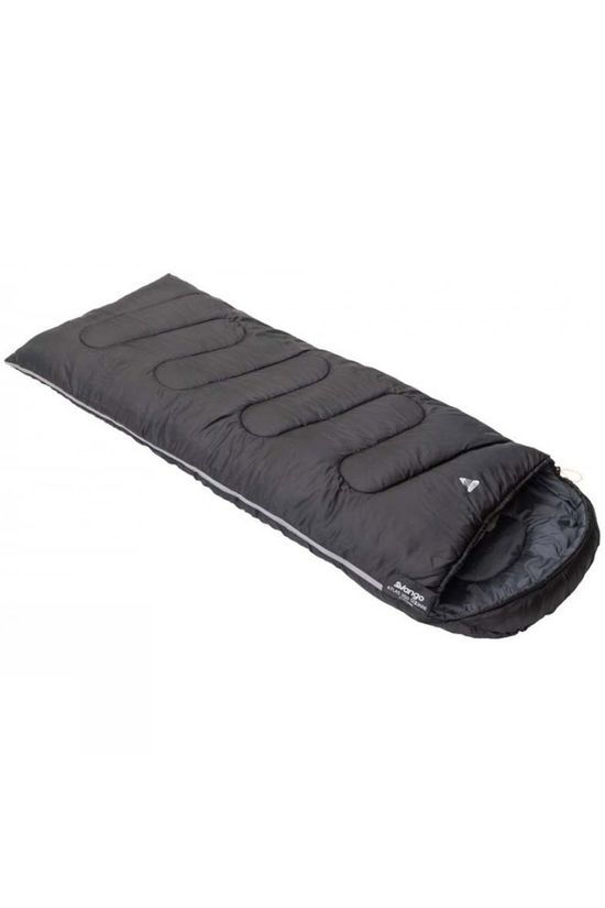 Vango  Atlas 250 Square Sleeping Bag Black