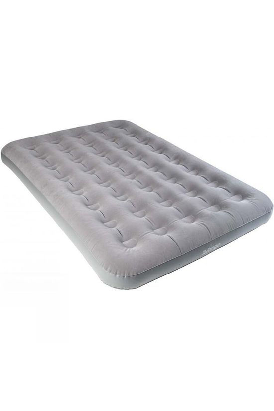 Vango Flocked Double Airbed Nocturne Grey