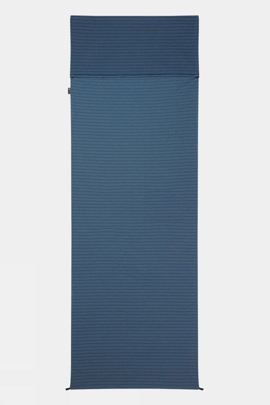 Mountain Equipment Groundup Liner Rectangular Denim Blue Stripe