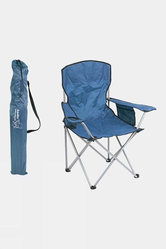 Summit Quebec Folding Chair Dark Blue/Dark Blue