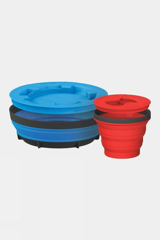 Sea to Summit X-Seal & Go Set Large Royal Blue/Red