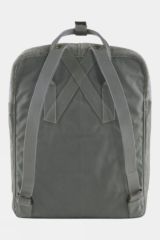 Fjallraven Kånken Re-Wool Daypack Granite Grey