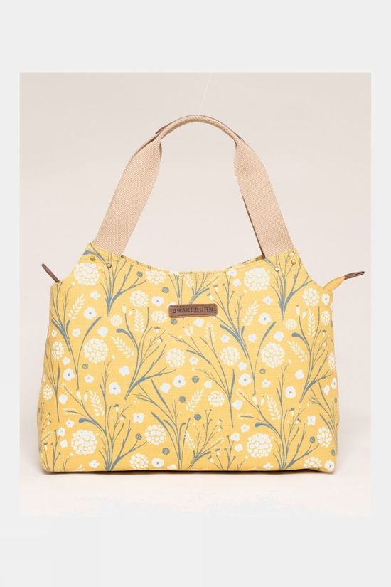Brakeburn Womens Dandelion Shoulder Bag Yellow