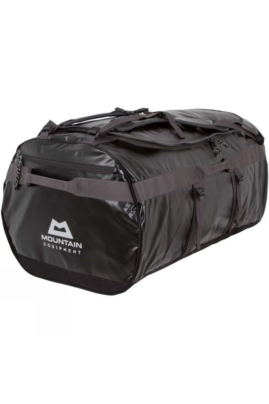 Mountain Equipment Wet & Dry Kit Bag 140L Black/ Shadow Grey/Silver