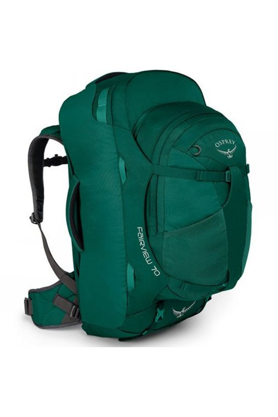 Osprey Womens Fairview 70 Travel Pack Rainforest Green