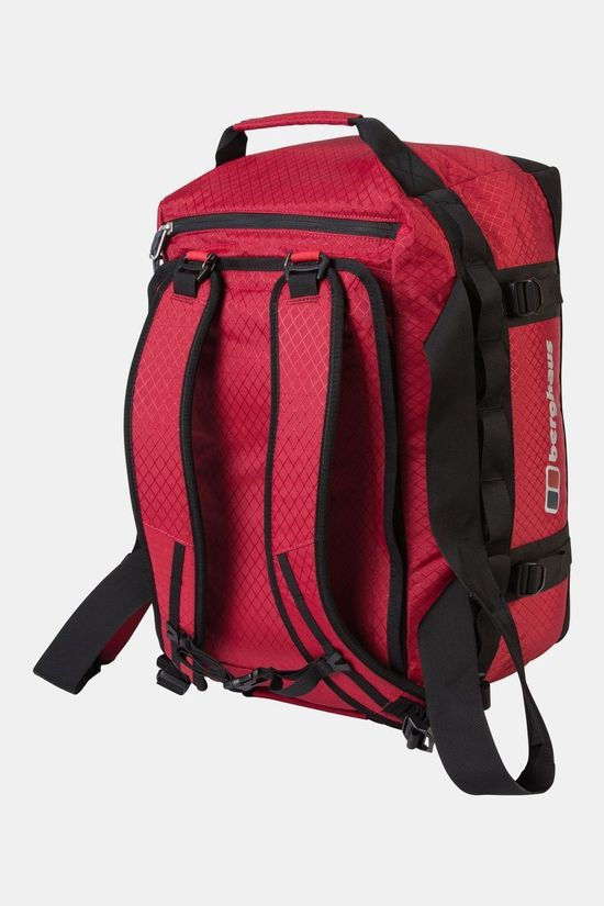 Berghaus Expedition Mule 60 Duffle Bag Red Dahlia/Jet Black