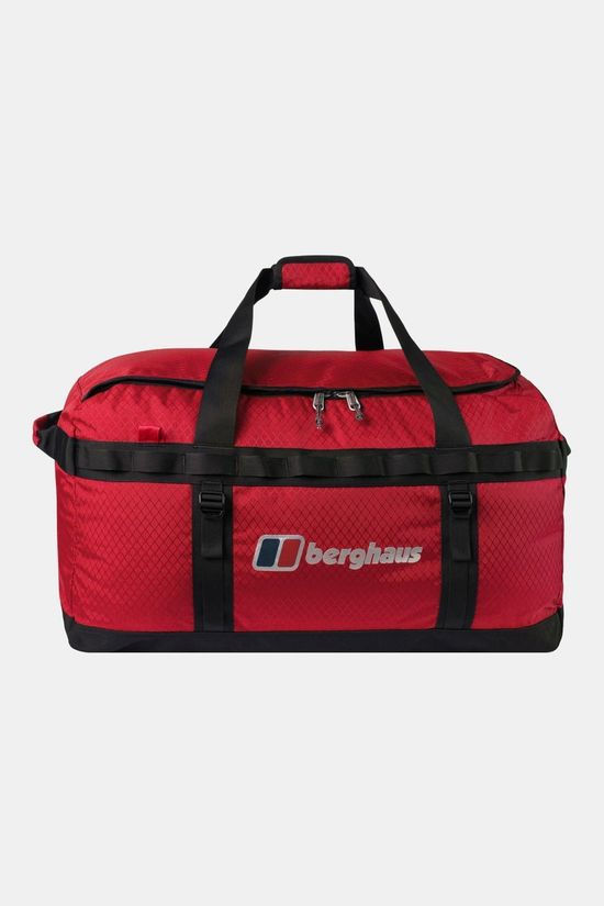 Berghaus Expedition Mule 100 Holdall Rucksack Red Dahlia/Jet Black