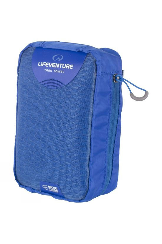 Lifeventure Micro Fibre Comfort Travel Towel (Large) Blue